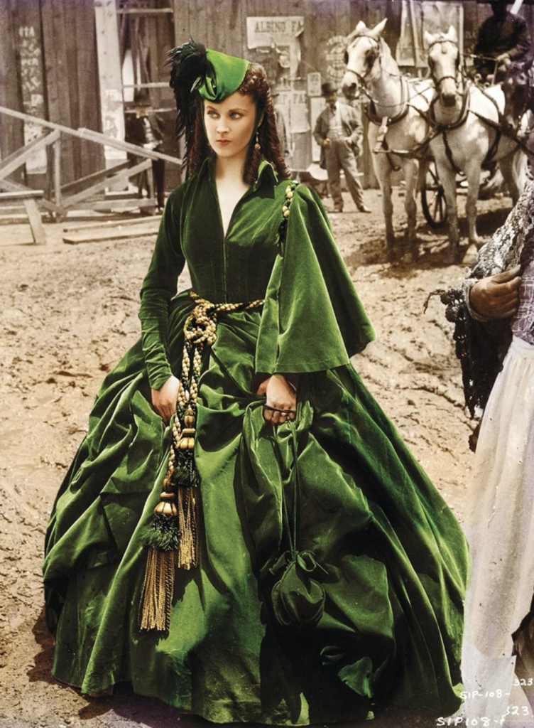 movie dresses: gone with the wind
